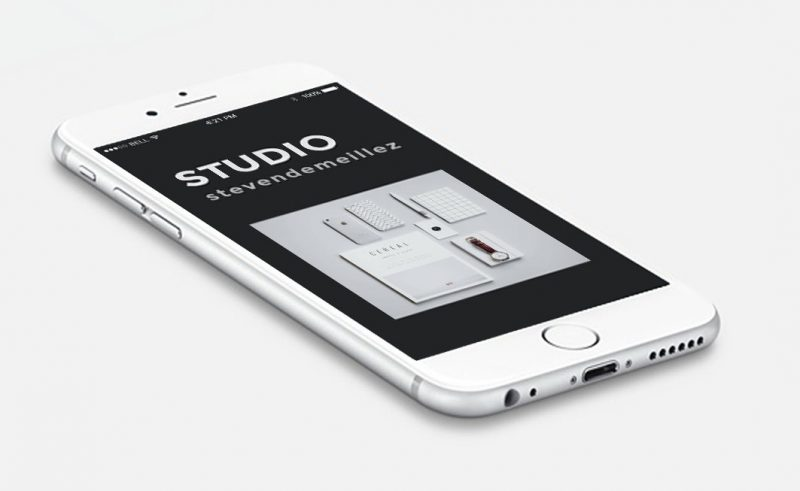 mockup APPLE STUDIO STEVEN